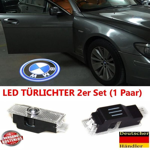 LED Welcome Light Projektor Logo Ghost Shadow Tür Licht Für B M W E60 E90 X6